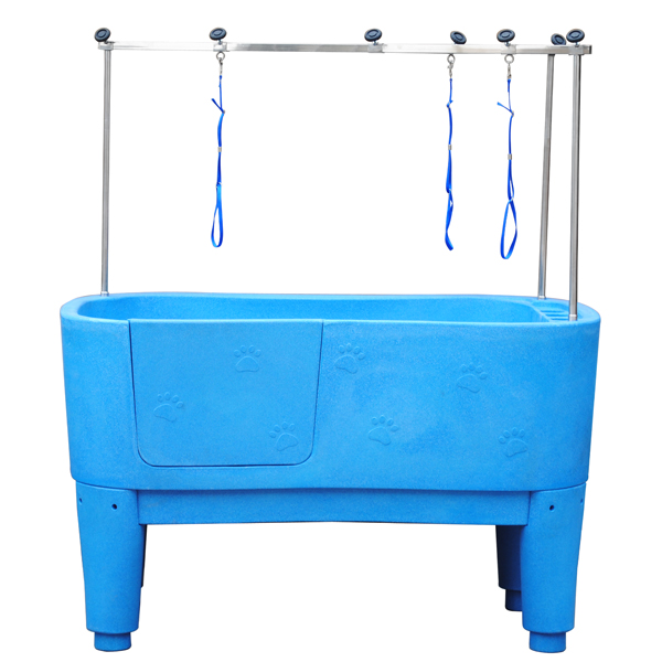 Plastic Dog Grooming Baths With Ramp