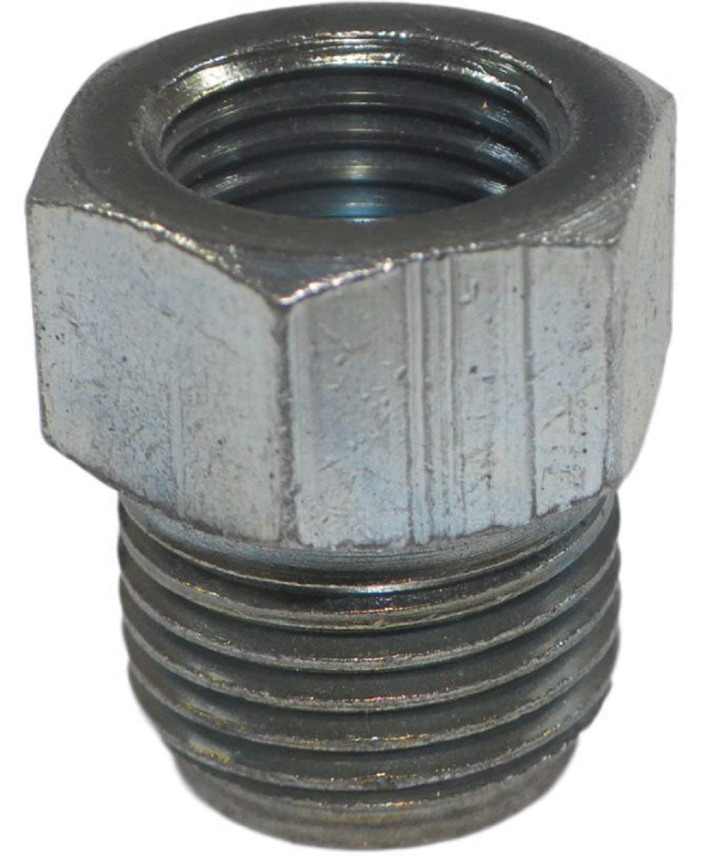LASCO 17-0101 Inverted Flare Nut Brass 1//8