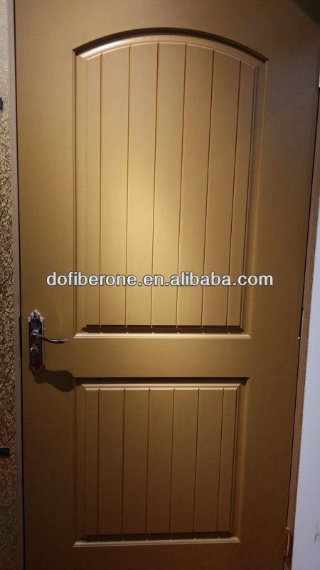 Frp grp fibra de vidrio smc caoba viruta textura puerta y puerta de la piel puertas - Puertas de fibra de vidrio ...