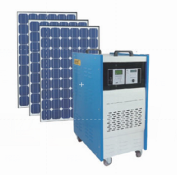 Movable Solar Power System 500W rated output power