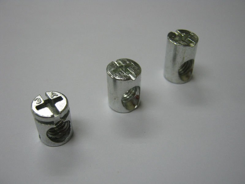 Furniture Hardware M6 Barrel Nut (+)/( ) Metal   Buy Nut Product On  Alibaba.com