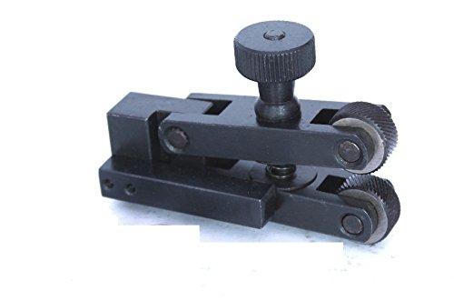 5.1//2 Long OMEX Brand New 6 Knurls Rotating Head Knurling Tool For Lathe Tool Holder