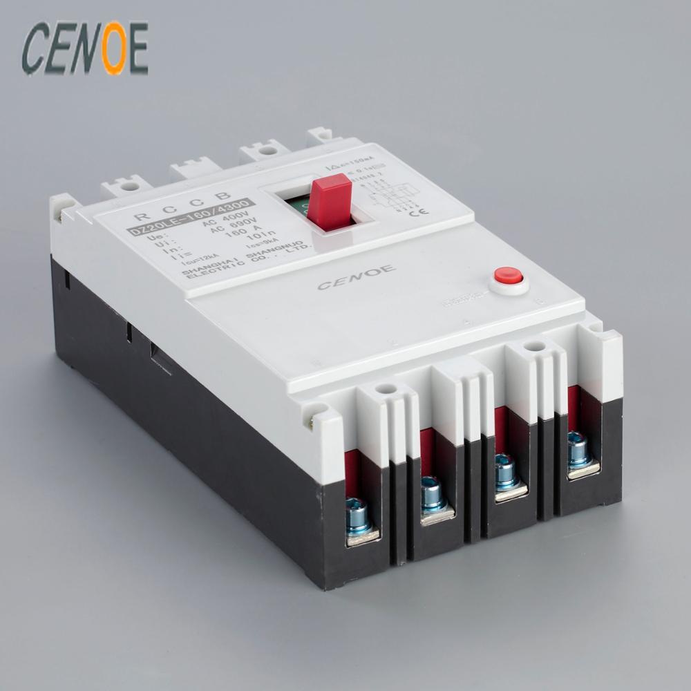Dz20le 160 4300 4 Pole 160a Elcb Earth Leakage Circuit Breaker Electronic Projects