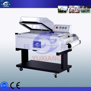 PP PE POF PVC film Shrink Wrapping machine for Bottles, cans, jars and bricks