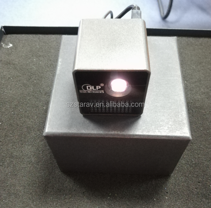 Factory DLP pocket Projector P1 P1+ WIFI Wireless Mobile Projector 640 x 360 Resolution LED Lamp