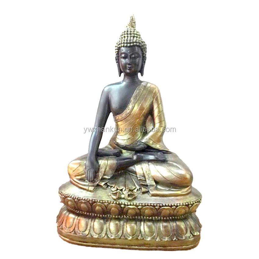 คุณภาพสูงราคาถูกของที่ระลึกของขวัญโบราณ Mini Resin รูปปั้นพระพุทธรูปสำหรับขาย