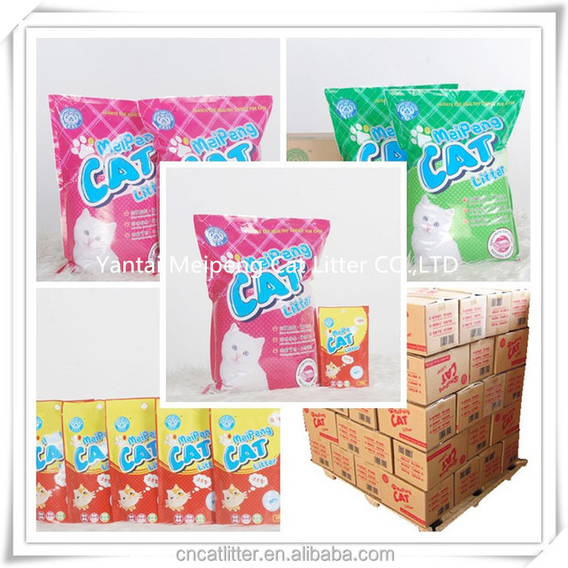 pet cleaning grooming products high quality bentonite cat litter free sample