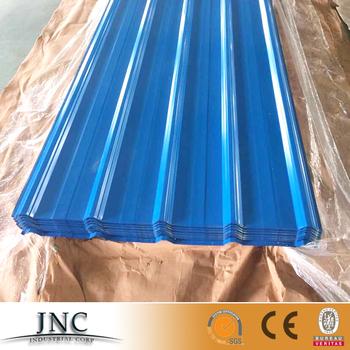 China Colored Corrugated Galvanized Steel Sheet / Galvalume Sheet ...