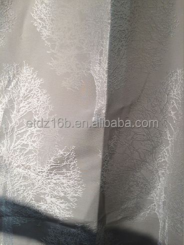 NEW arrival Modern Brief Style 100% Polyester Tree of Life Jacquard Curtain & Curtain fabric
