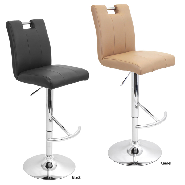 Bar stool supplier wholesale Contemporary counter height leather Bar Stools with back