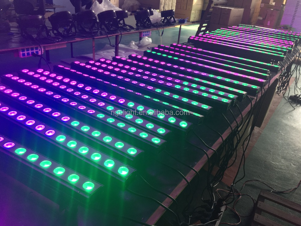 Wholesale 18*10w led wall washer light indoor RGBw 4in1 led stage ...