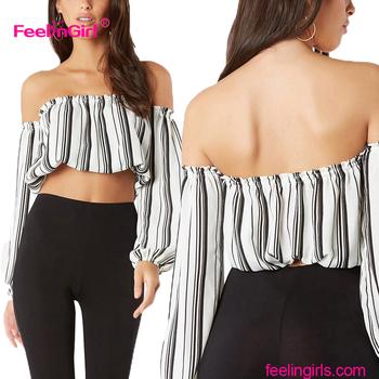 bc8f47f91019a5 Fashion Cutting Fancy Off Shoulder Latest Saree Blouse Designs 2017 ...