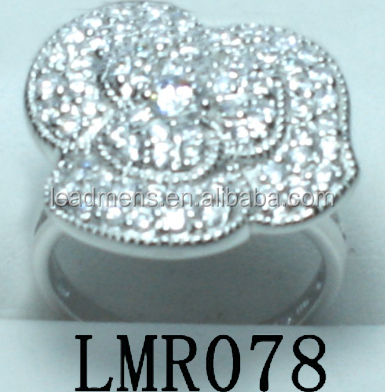 factory price special shape 925 sterling silver ring