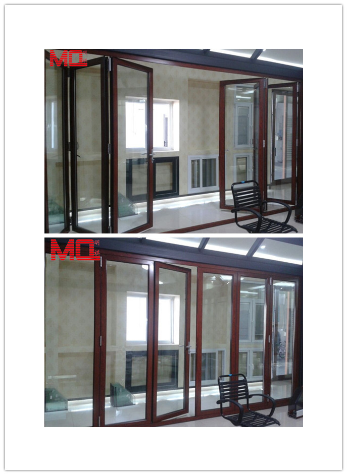 Fashion Dining Room Glass Grill Design Doors