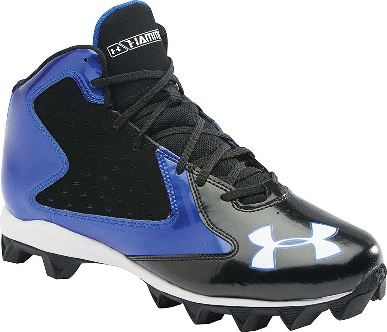 0a985c33104c Buy Under Armour Mens UA Hammer Mid D Football Cleats in Cheap Price ...