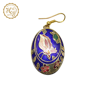 Fashion Customized Design Eardrop Pendant Earring Cloisonne Earring Earrings