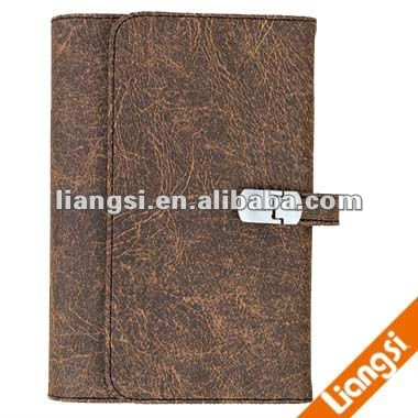 Promotional leather planner notebook