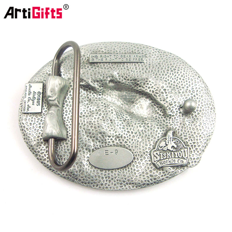 2017 Artigifts Wholesale metal men custom belt buckle