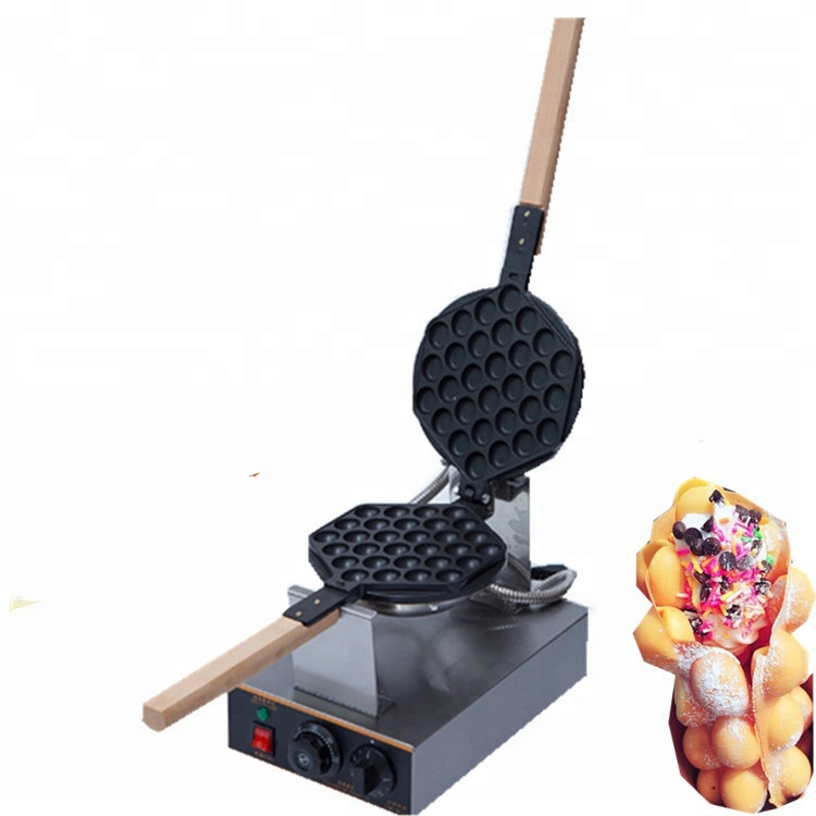 Snack Food Machine Commerciale Bolla Elettrico Waffle Maker Commerciale