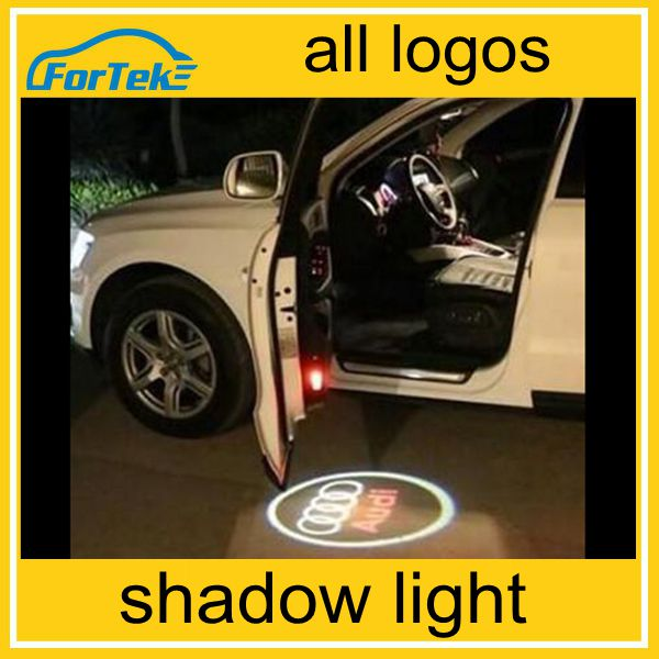 2016 New product 3d ghost shadow light welcome light for car