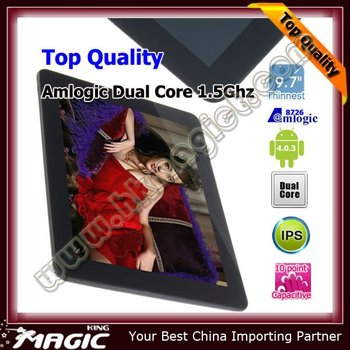 Top Quality ZTPAD 9.7 inch IPS 10 point touch screen
