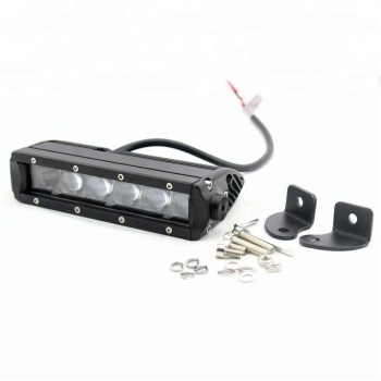 30W 7 inch 4D led work light bar