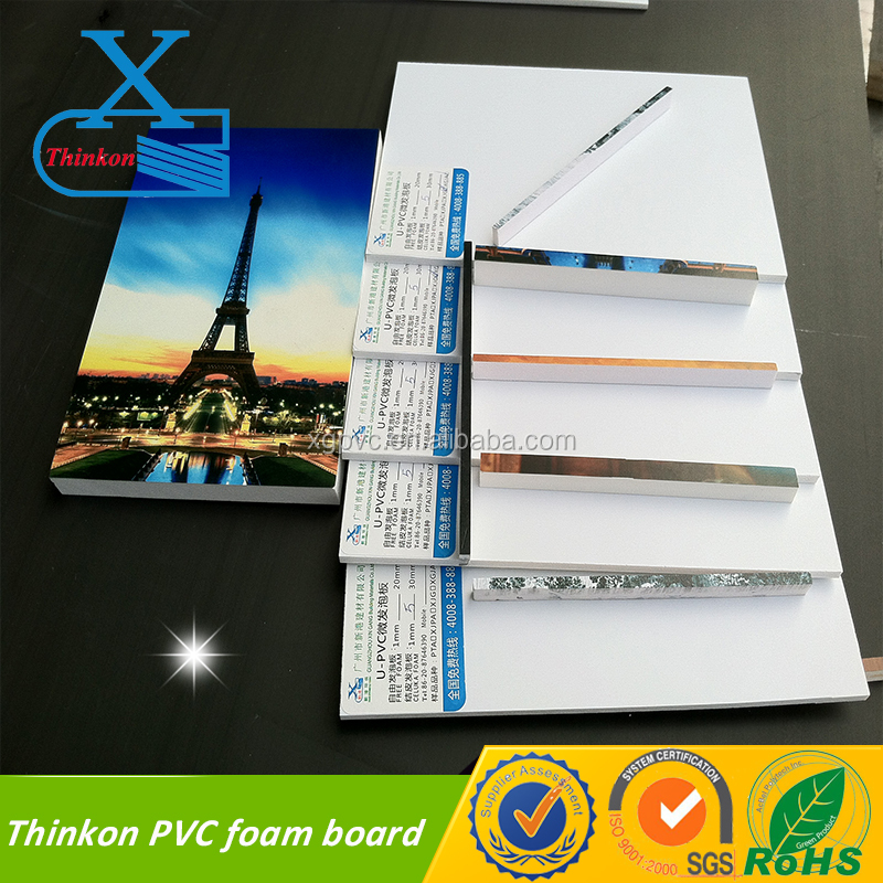 pvc plate lead free pvc foam board with SGS for standing advertising board