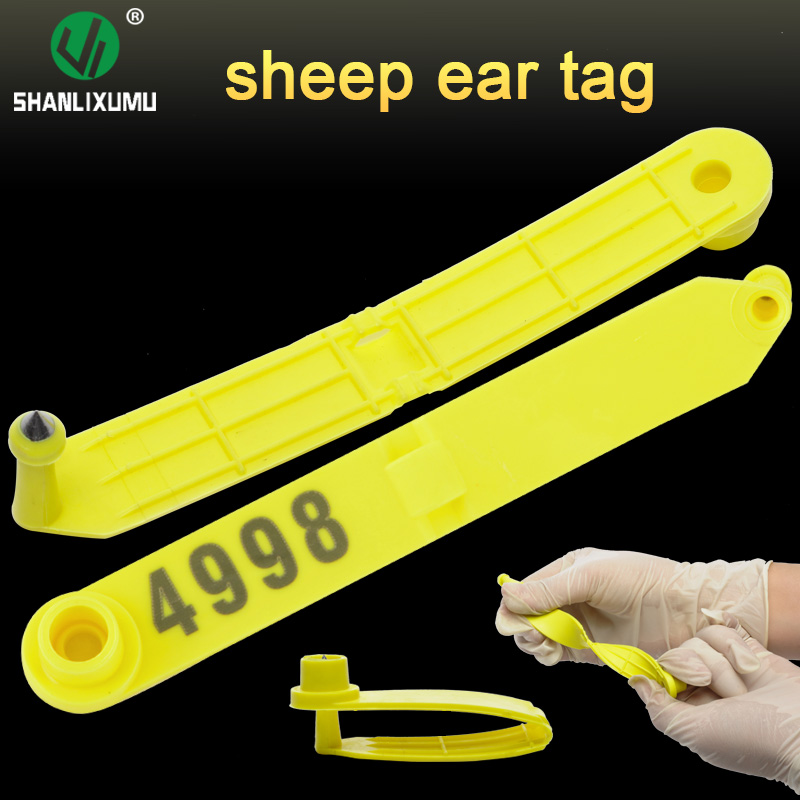 2017 new product low price sheep goat ear tag for livestock tracking china supply