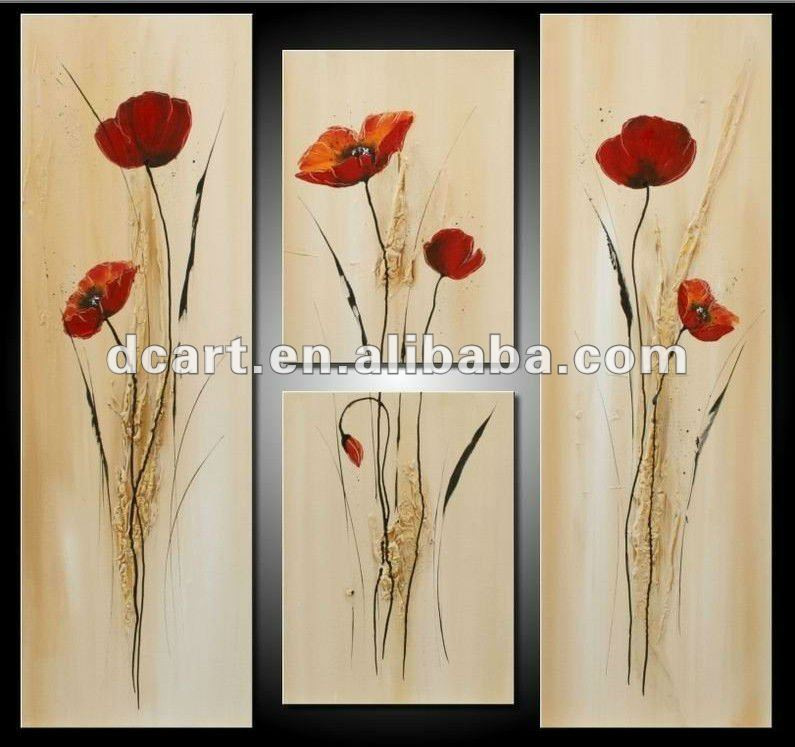 2012 hot selling beautiful abstract flower new design