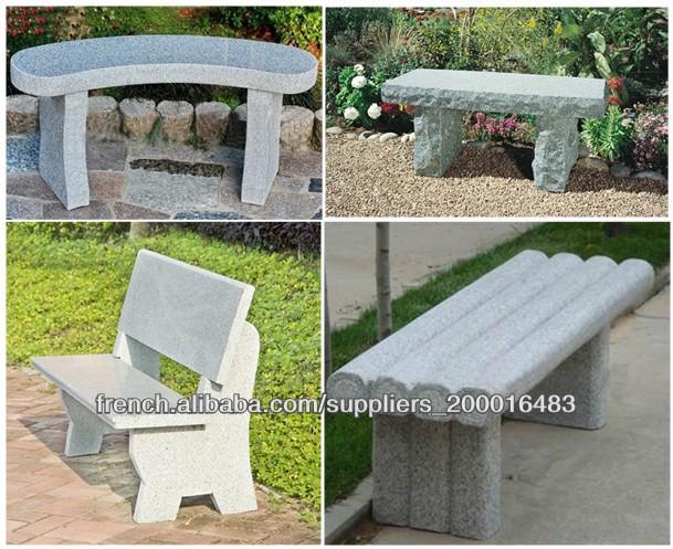 table en pierre de jardin et banc produits en pierre jardin id de produit 500000498822 french. Black Bedroom Furniture Sets. Home Design Ideas
