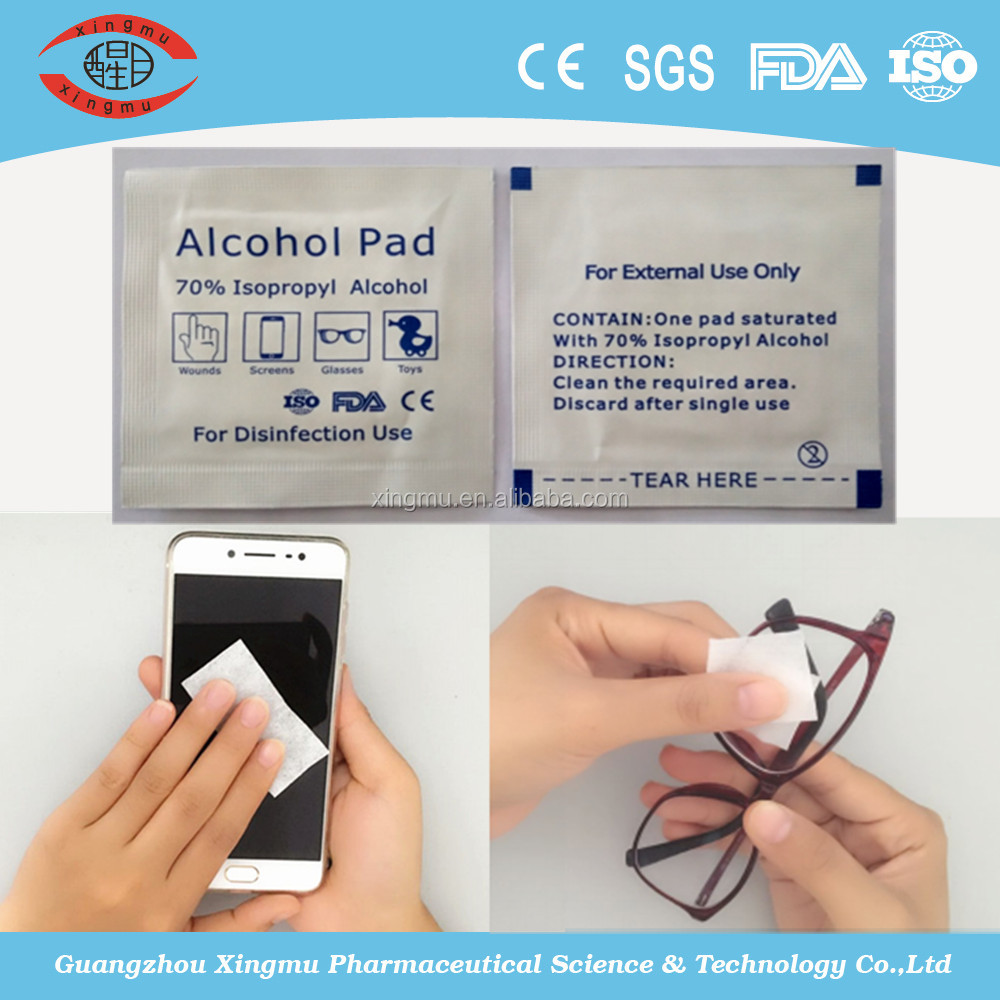 nonwoven alcohol swabs,medical alcohol pads,alcohol prep pad