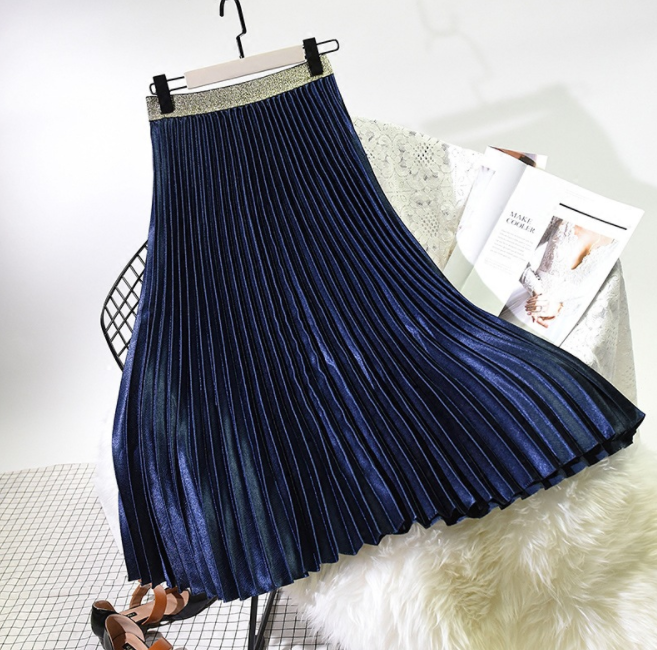 up-1433r 2018 Autumn Winter Latest Design Long Maxi Skirt
