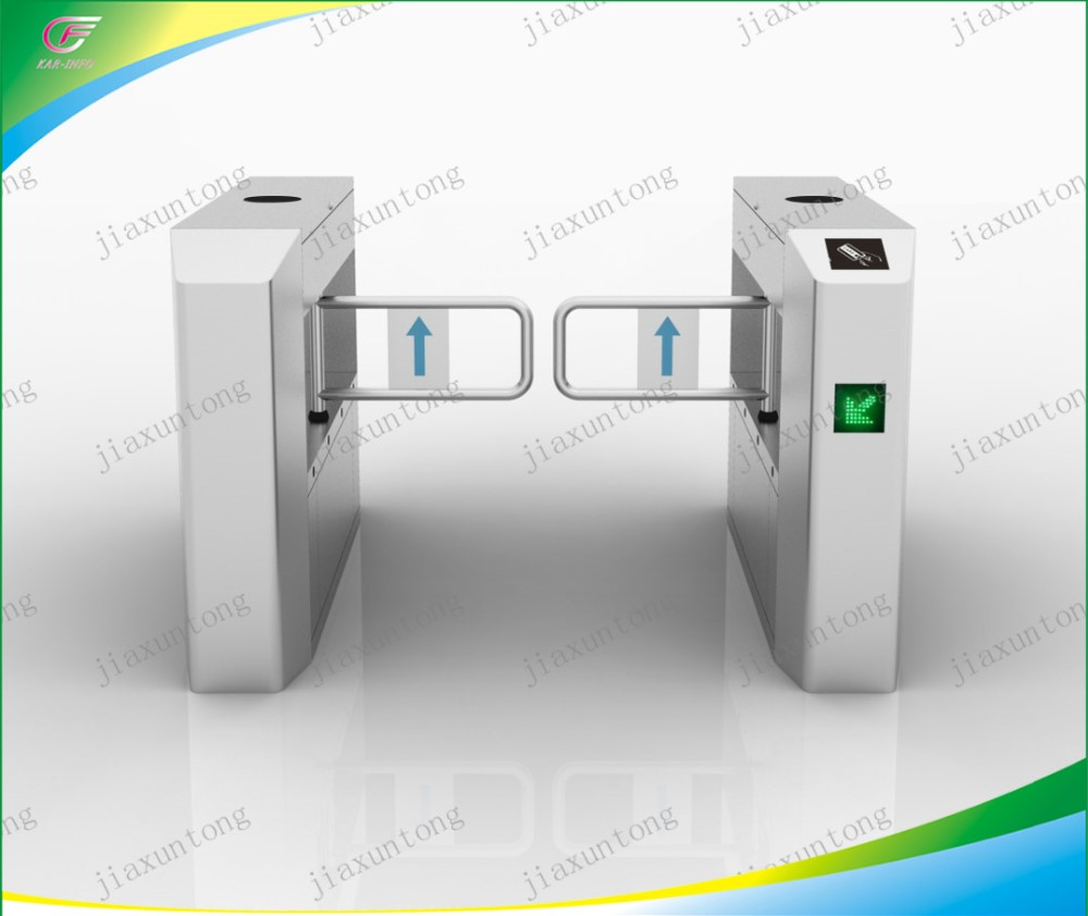 Access Optical Swing Gate Turnstile / Controlled Access Flap Barrier