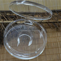 Transparent small acrylic jewelry box for bracelet