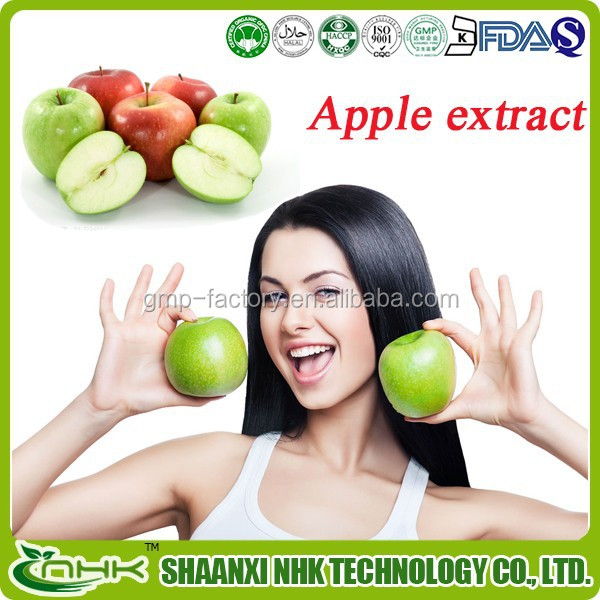competitive price 100% natural high quality apple root extract/ apple peel extract/ apple bark extract
