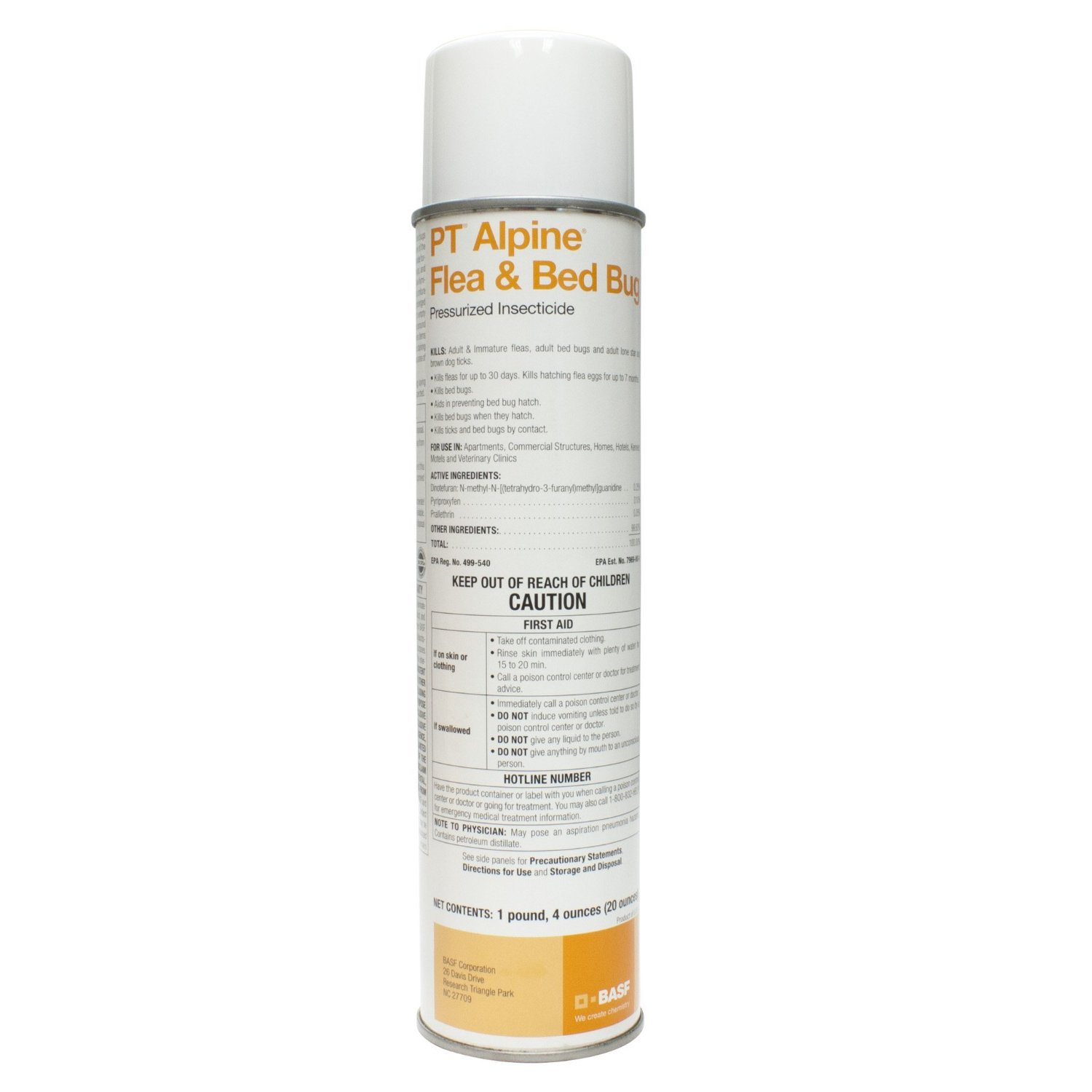 Alpine Flea Insecticide with IGR Aerosol - CASE (12 cans)