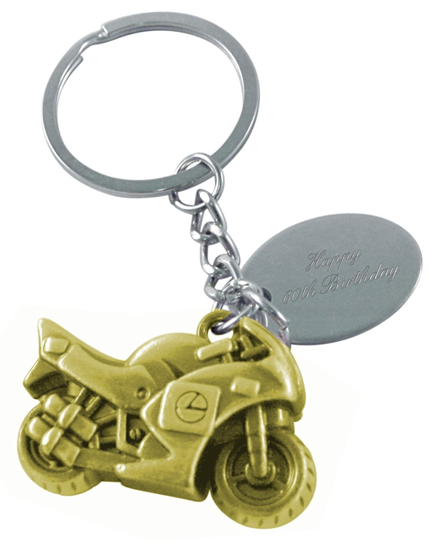 Luxury Engraved Gifts UK Mens Happy 60Th Birthday Rubber /& Steel Identity Id Bangle Bracelet BR50