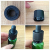 childproof and tamperproof cap for e liquid/e juice/essential oil