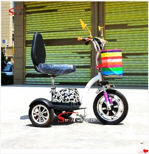 CE certificate Tricycles mini drift trike three wheel zappy 3 electric scooter