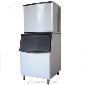Air-Cooled Full Cube Ice Machine w/ Storage Bin