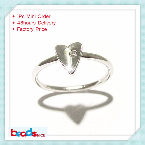 Beadsnice ID 26777 925 silver knuckle heart ring wholesale elegant trendy rings