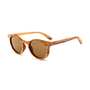 High end italy design custom logo wholesale wooden sunglasses From China