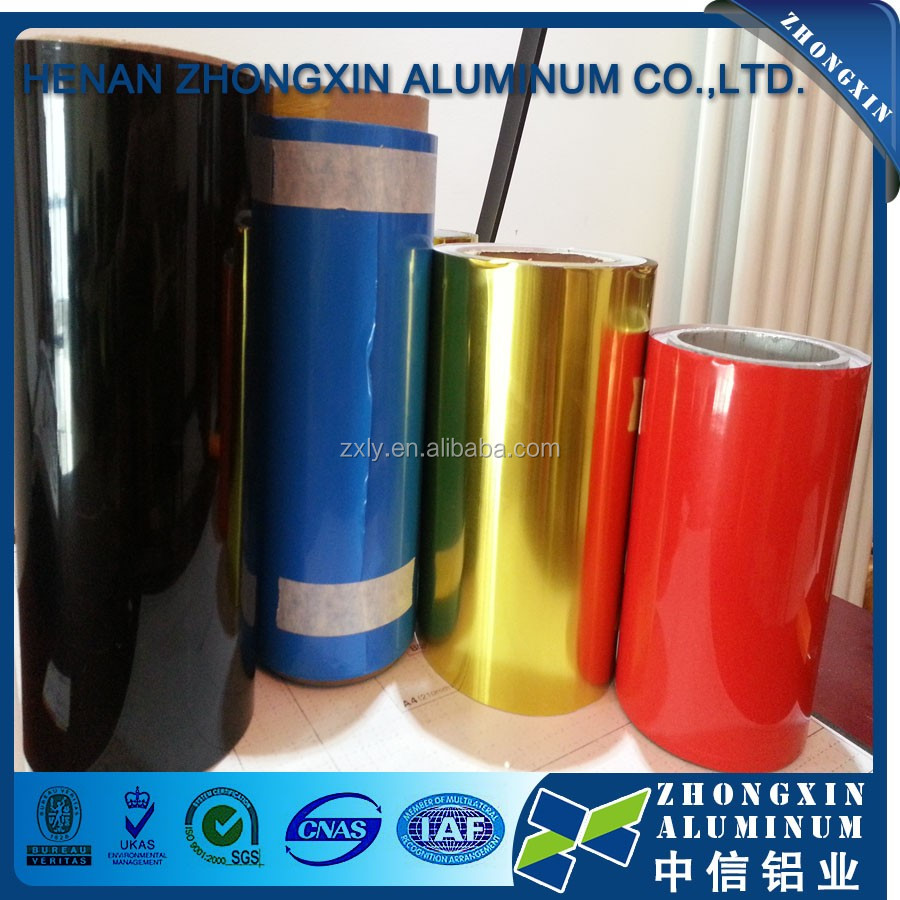 Colored Aluminum Foil, Alluminum Foil For Lunch Box