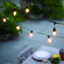 Outdoor solar powered led string lichter
