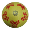 Custom printed kids toys games rubber football ball promotional Plain Face Rubber soccer ball for Wholesale