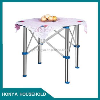 Adjustable Stainless Steel Folding Table Leg Mechanism