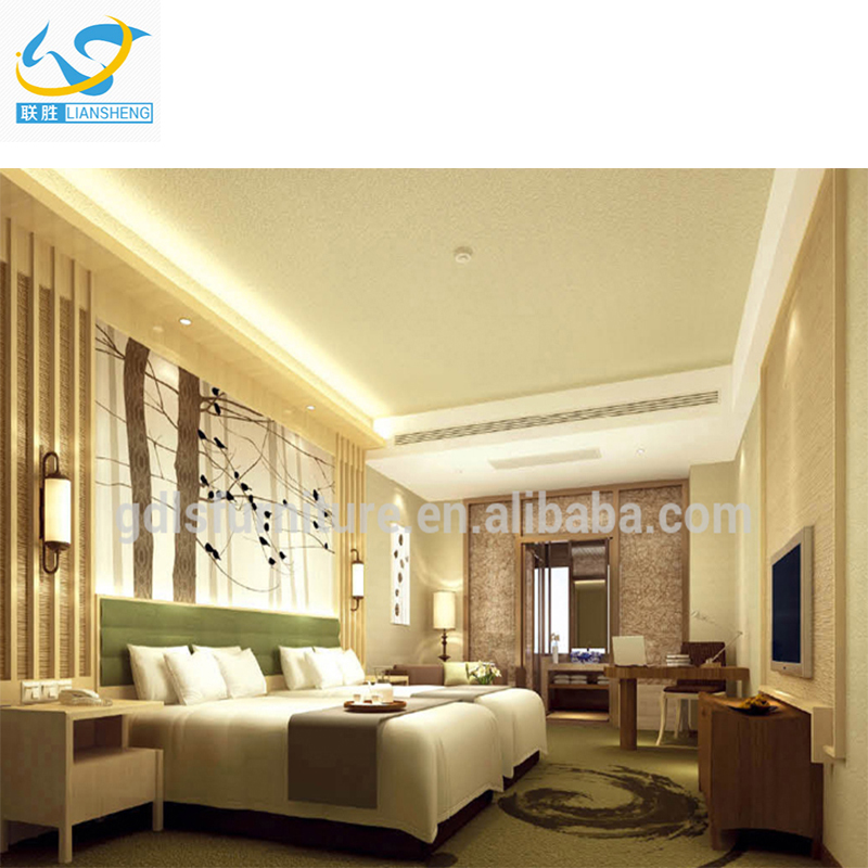Luxury hotel supplies bedroom furniture for hotel bedroom equipment set