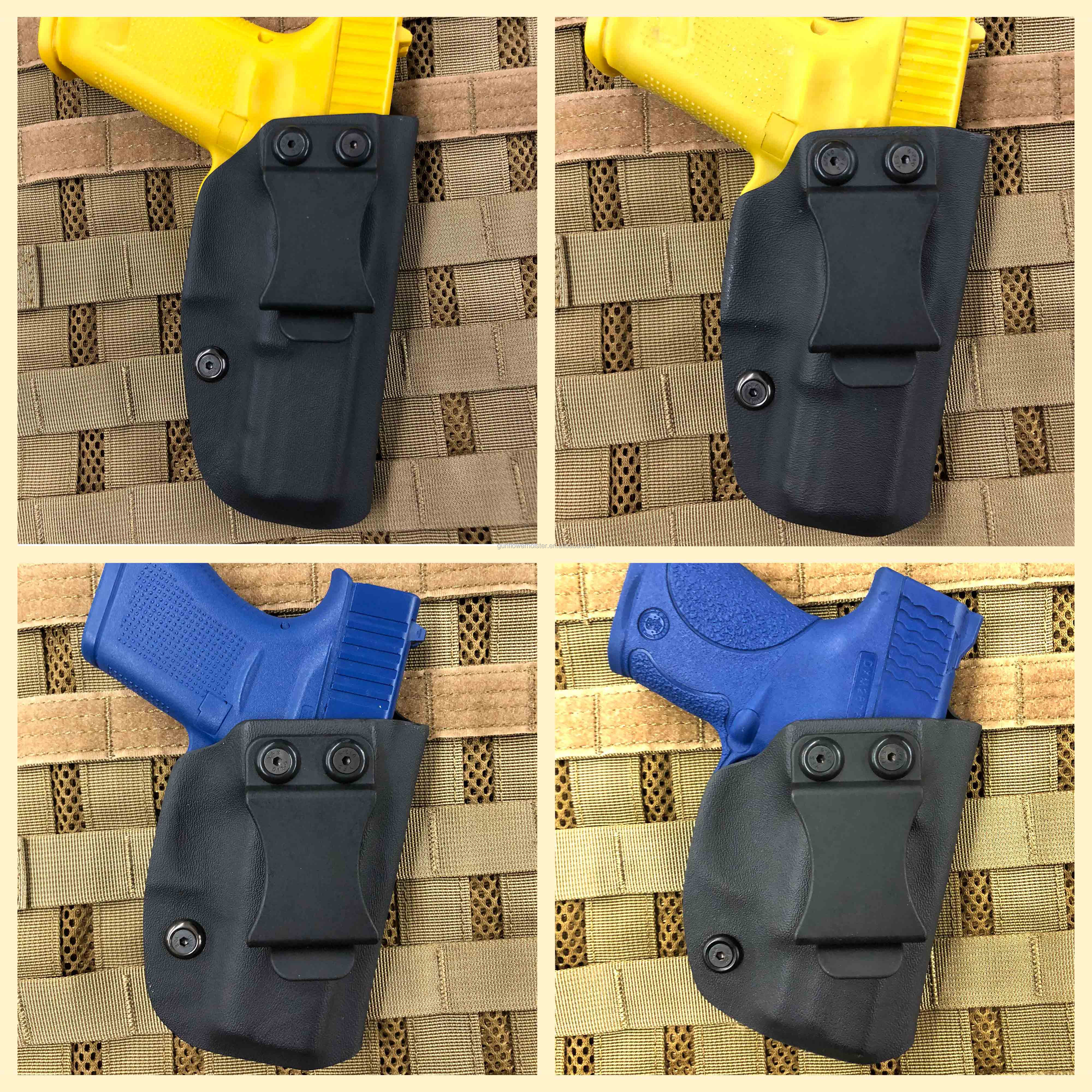 Hunting Tactical Outdoor Gear Concealed Gun Carry IWB Neoprene Holster Fit Glock 17 Beretta 92FS HK UPS 1911 Pistols