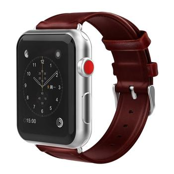 정품 가죽 Watches 묶을때 해도 Wrist Watch Strap 대 한 Apple Watch4 3 2 1 38 MM 42 MM 40 MM 44 MM