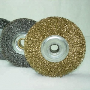 industrial steel brass wire wheel brushes polishing or cleaning brushes tools